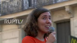 France: Thousands join march for climate action and social justice in Paris