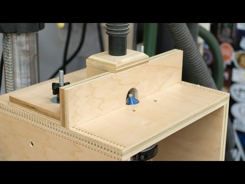 Benchtop Router Table - 273