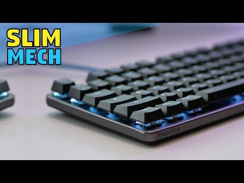 Budget Slim Mechanical Keyboard - Outemu Snap Spring Switch