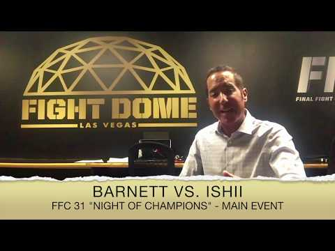 FFC 31 Main Event Announced!