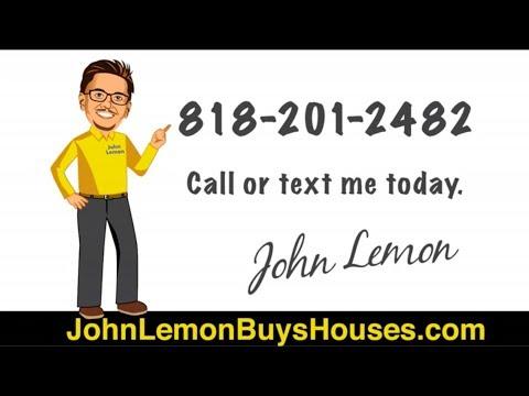 John Lemon Buys Houses As Is for Cash