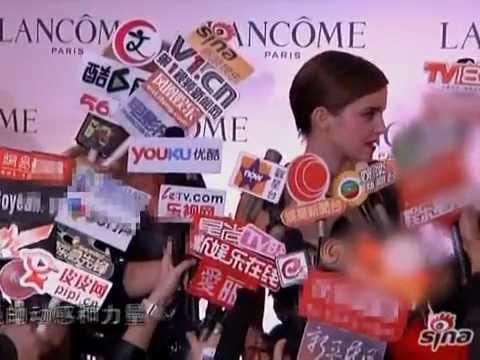 Emma Watson in Hong Kong