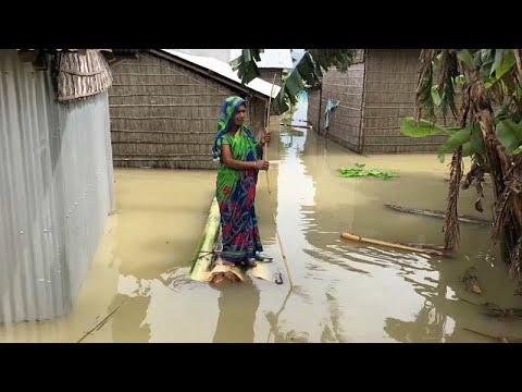 شاهد: فيضانات الهند تتسبب في تشريد أكثر من مليوني شخص  - نشر قبل 1 ساعة
