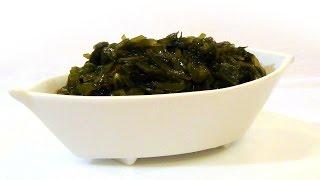 Как замариновать морскую капусту (ламинарию)