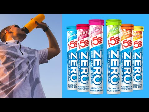Best Electrolyte Tablets For Runners, High5 Zero Review