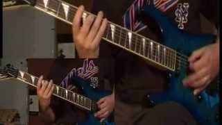 Nile - Ithyphallic (guitar cover)
