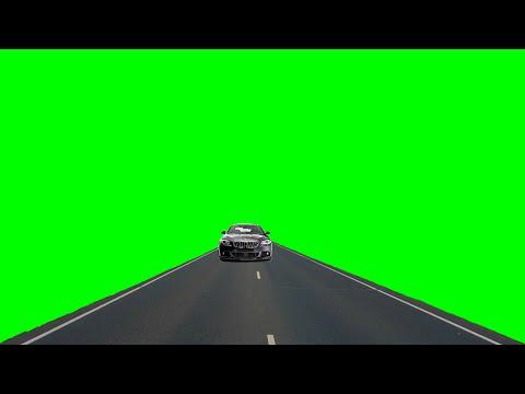 Переход приближающийся автомобиль. Хромакей Футаж  transitions, chromakey, footage, car