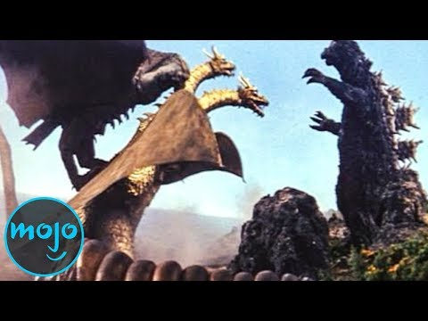 Top 10 EPIC Godzilla Moments