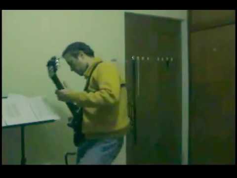 Blues guitar. Zoom 505 test. Rock in USA - Kike Ramirez