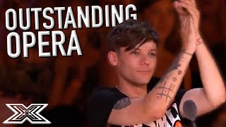 OUTSTANDING OPERA Auditions On The X Factor UK, Spain and MORE! | X Factor Global