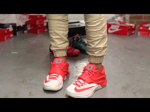 Kd 5 Christmas On Feet KD 7 'EGGNOG' Review W...