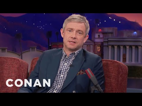 Martin Freeman On The Difference Between British & American Actors   CONAN on TBS