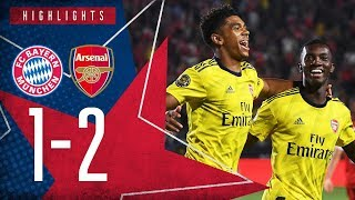 NKETIAH WITH THE WINNER! | Bayern Munich 1 - 2 Arsenal | ICC 2019 extended highlights