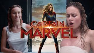 Captain Marvel (Brie Larson) Famous Captain Marvel movies collection then and now  2019