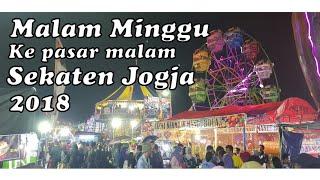 8. Ke Pasar malam di  Malam minggu Ramenyaaaa | Sekaten Yogyakarta