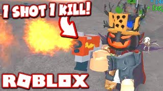 THIS OP WEAPON SHOULD BE BANNED FROM THIS ROBLOX GAME!!