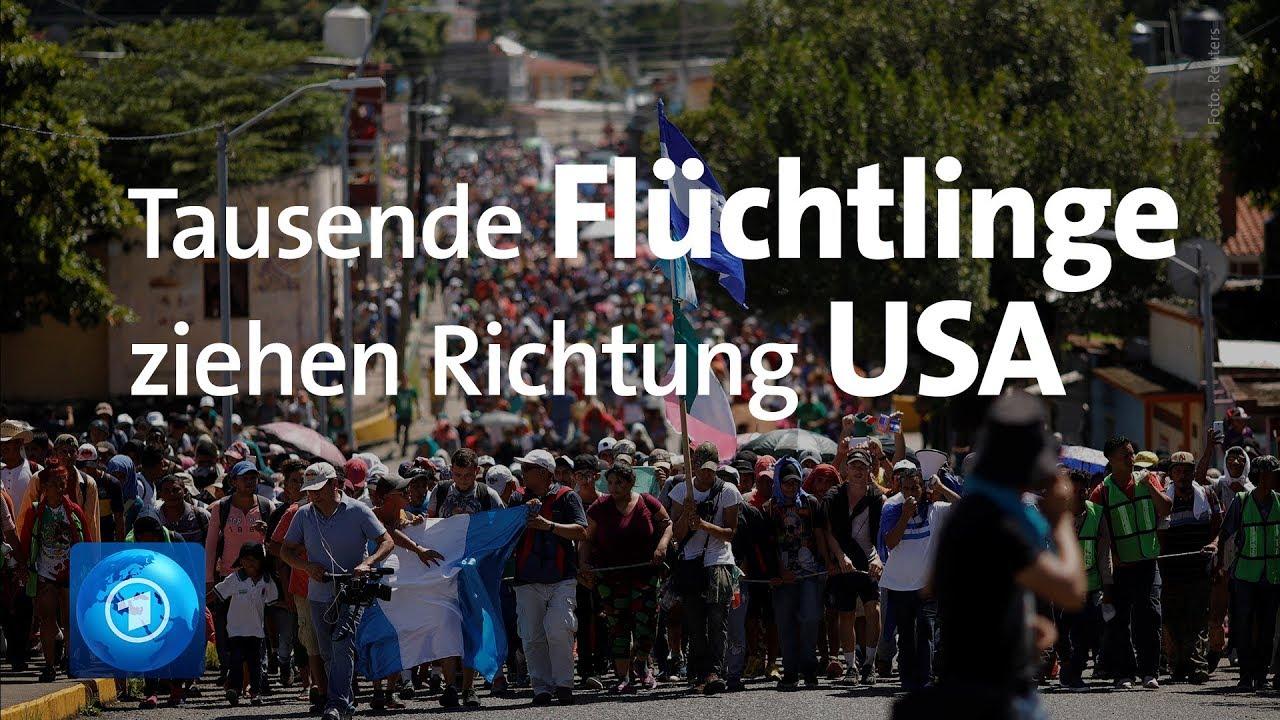 Download Mittelamerika: Tausende Flüchtlinge ziehen Richtung USA