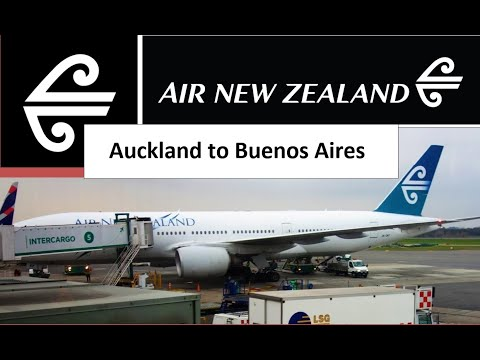 Auckland To Buenos Aires On Air New Zealand