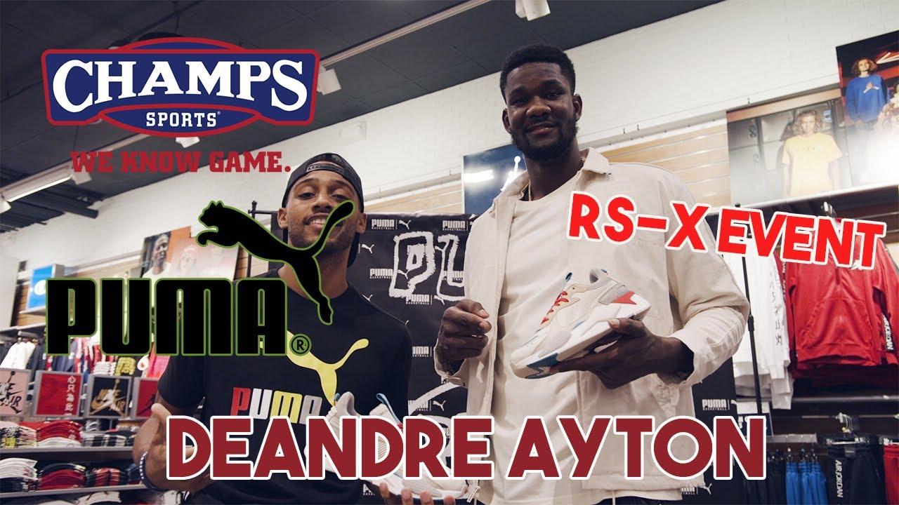 Puma \u0026 Champs Sports   Deandre Ayton RS