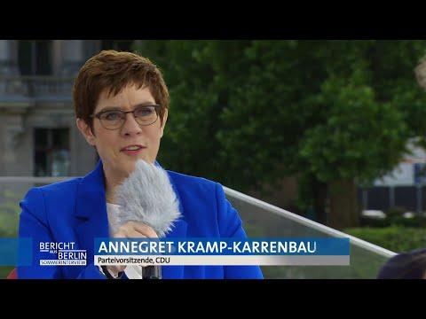 AFP Deutschland: Kramp-Karrenbauer: Jeder CDU-Vorsitzkandidat hat auch Kanzlerkandidatur im Auge | AFP