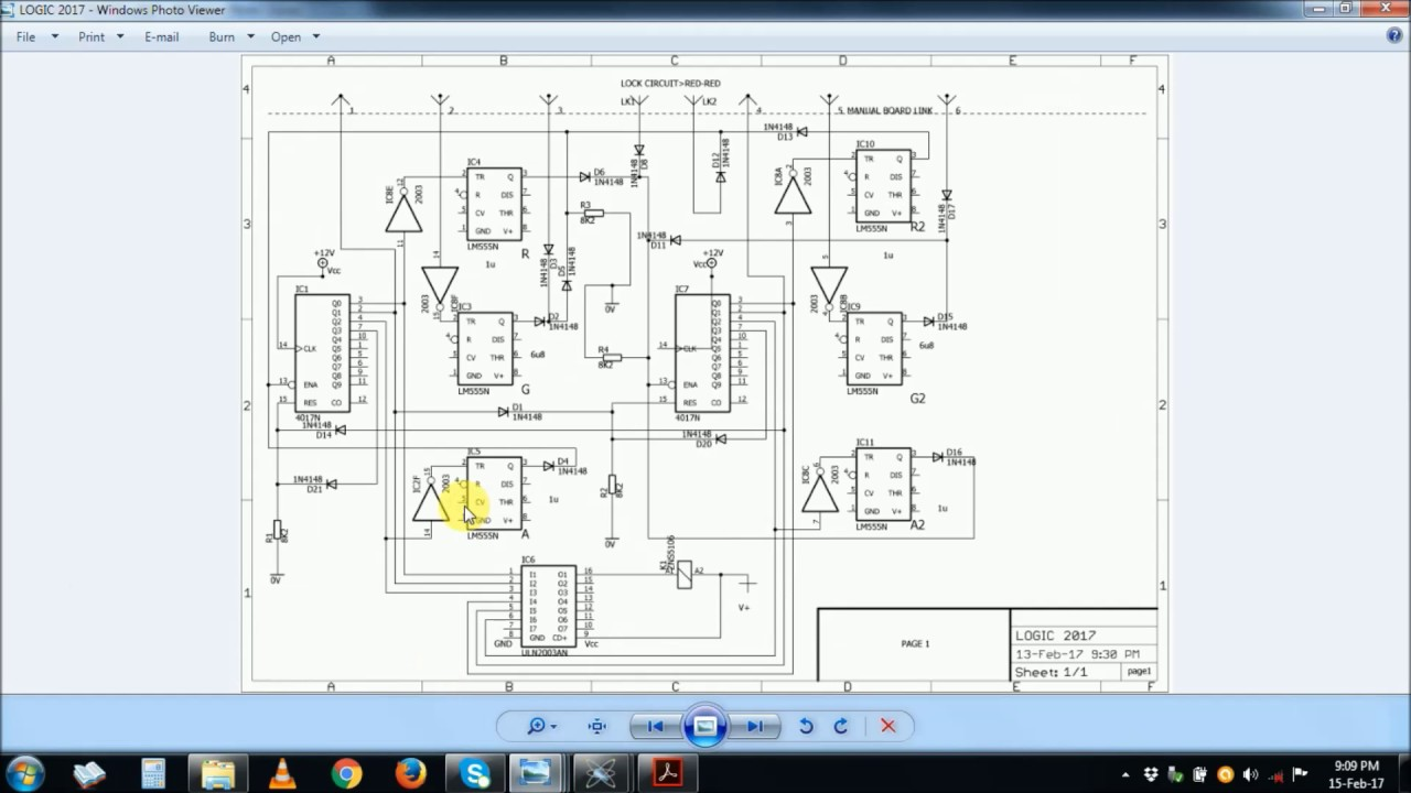 Traffic Lights Controller Circuit Part 2 Of 4
