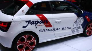 Audi A1 Samurai Blue 2012 Videos