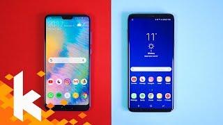 Huawei P20 Pro vs Galaxy S9+ / Was ist besser?
