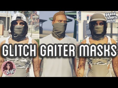 GTA5 | Outfit Glitches: GAITER MASKS WITH HAT/HELMET/ALONE (Female & Male)
