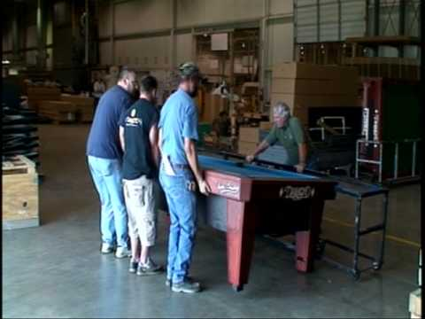 How To Flip DIAMOND ProAmSmart Table YouTube - 7 foot diamond pool table