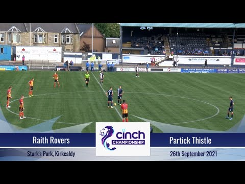 Raith Partick Thistle Goals And Highlights