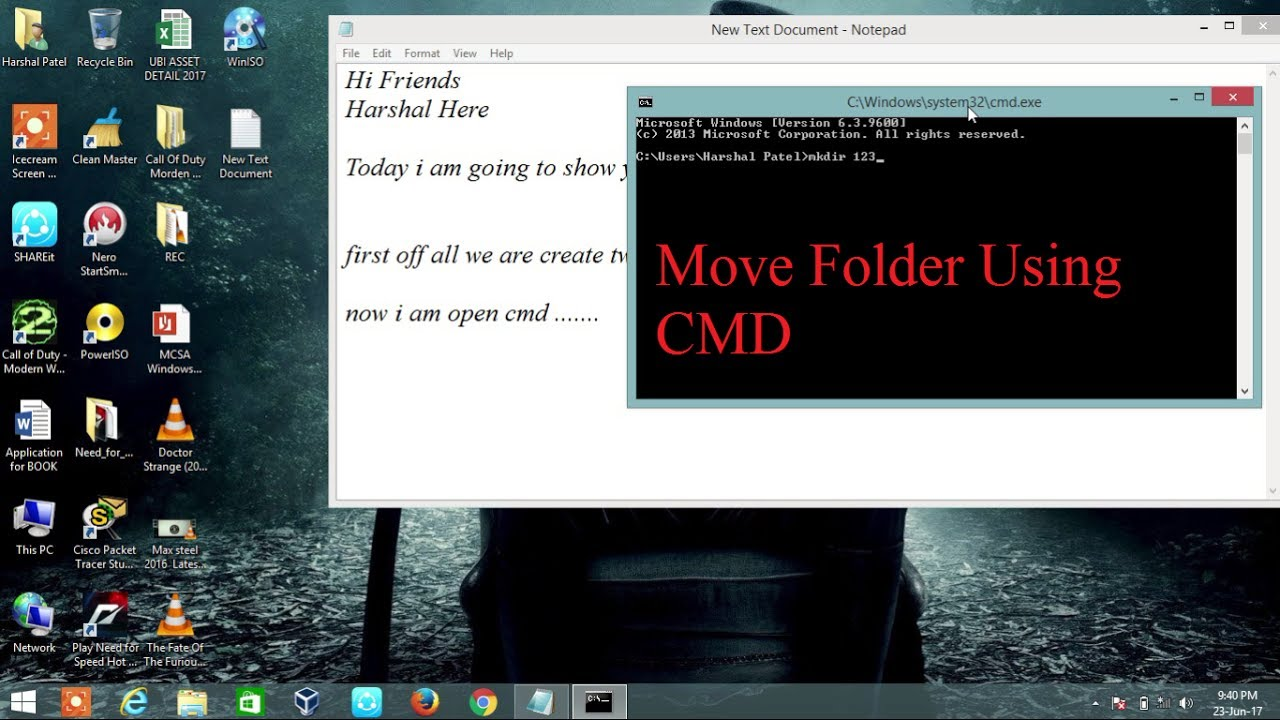 how to move download folder in windows 7