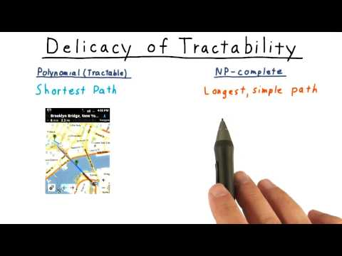 Delicacy of Tractability - Georgia Tech - Computability, Complexity, Theory: Complexity
