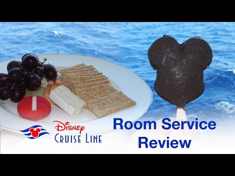Disney Cruise Room Service - Review And Tips