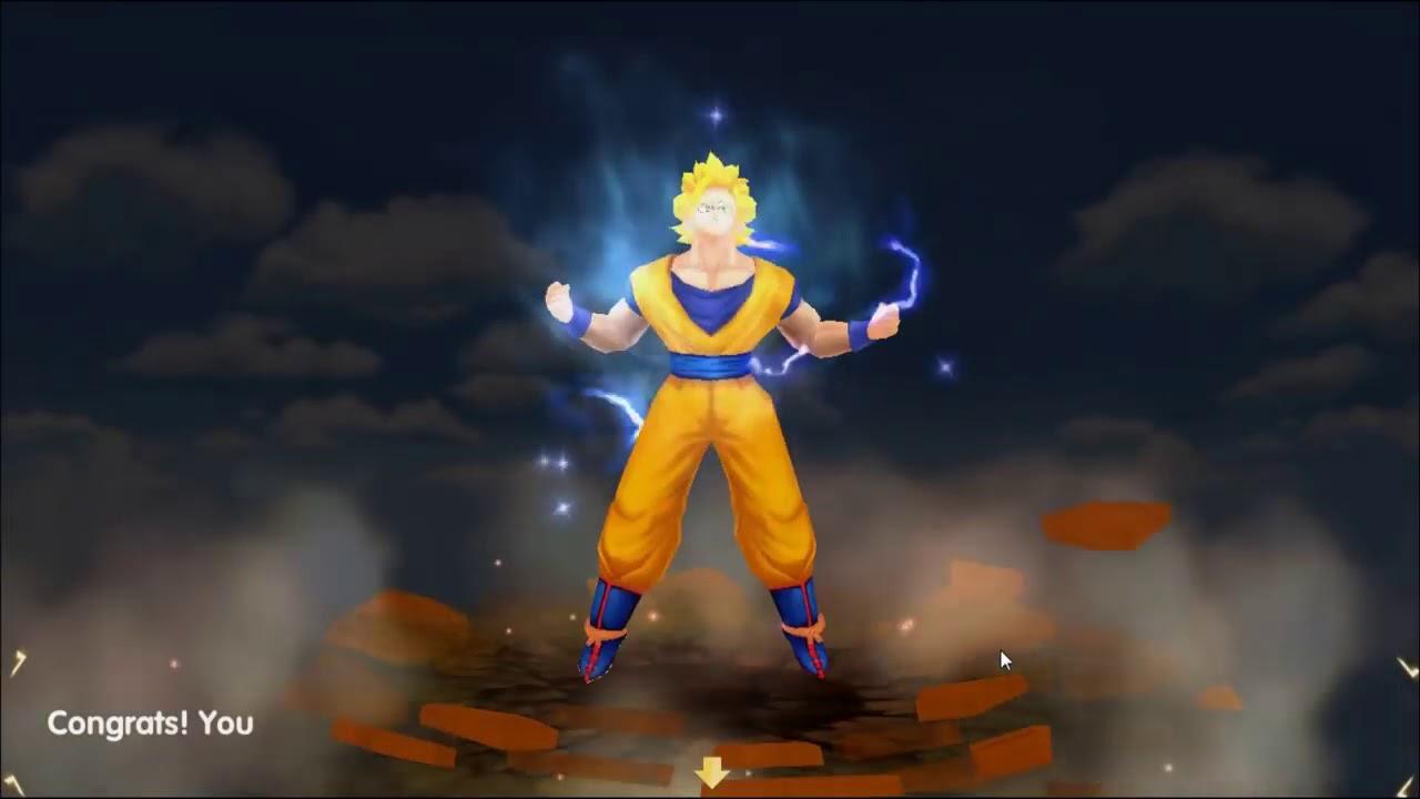 [Dragon Ball Super] Songoku Tiến Hóa Siêu Xayda Cấp 2 Cực Mạnh - 7 Viên  Ngọc Rồng