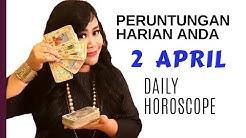PERUNTUNGAN ZODIAC ANDA HARI INI |2 APRIL 2019 - DAILY HOROSCOPE | Endang Tarot (Indonesia)