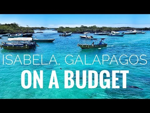 Budget travel in the Galapagos!   Budget Isabela Mp3