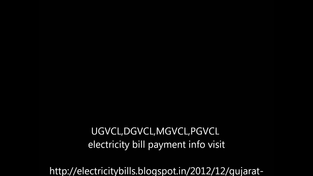 Electricity Bill Status And Payment In Gujarat