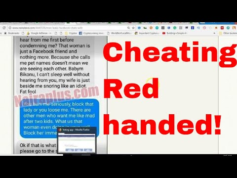 Man Leaks Facebook Chats Of His Wife With Married Man - cheating spouse boyfriend girlfriend