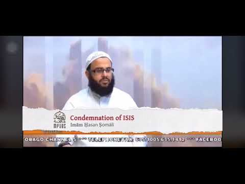Hasan Somali Condemns Isis And The Likes