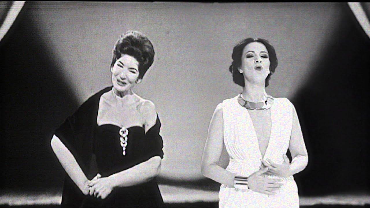 Angela Gheorghiu duet with Maria Callas - Habanera - YouTube