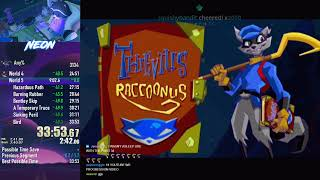 Sly 1 Any% Speedrun in UNDER 34 MINUTES! (World Record)
