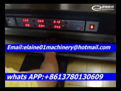 resin plate making machine