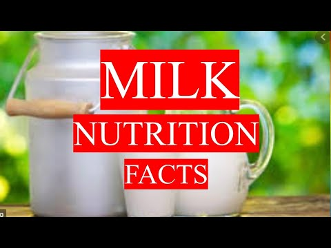 MILK HEALTH BENEFITS AND NUTRITION FACTS