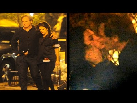 Tarantino Cheats On Uma Thurman With Vanessa Ferlito