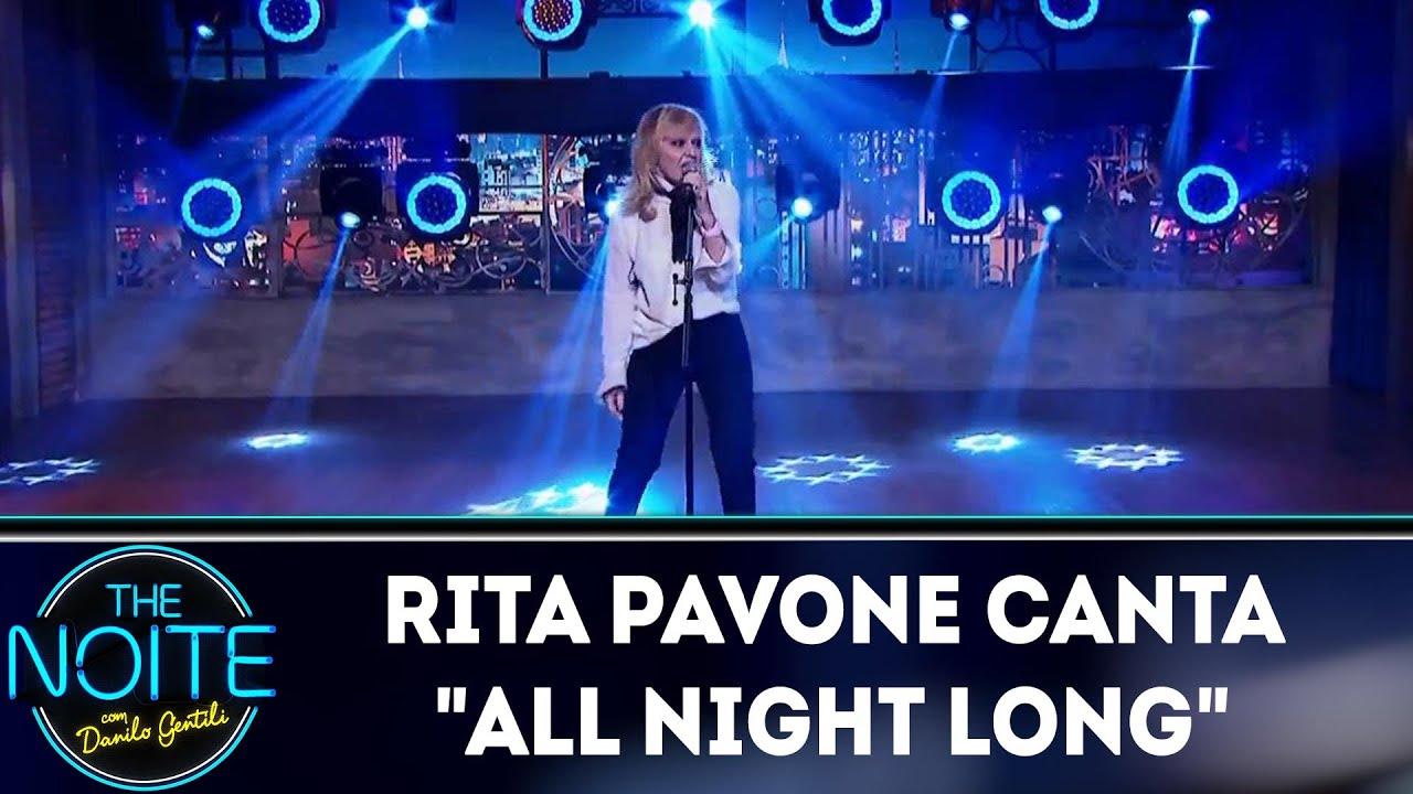 Rita Pavone Canta All Night Long The Noite 14 05 18