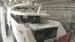 Timelapse TANKOA Suerte 226' Superyacht
