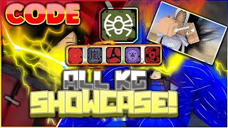 [CODE] ALL KEKKEI GENKAI SHOWCASE!|[073]WHICH KG IS THE STRONGEST/BEST?!|ROBLOX NRPG- Beyond
