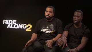 KEVIN HART & ICE CUBE INTERVIEW! | Arron Crascall