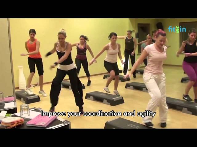 FitMeIn   Step Aerobics - YouTube