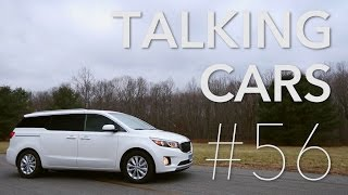 Talking Cars with Consumer Reports #56: Kia Sedona & Toyota Sienna; What makes a car fun?